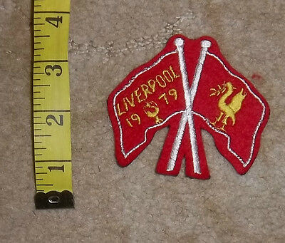 1970s Liverpool FC  Sew On Cloth Badge/Patch Lot 6