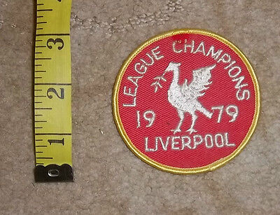 1970s Liverpool FC  Sew On Cloth Badge/Patch Lot 13