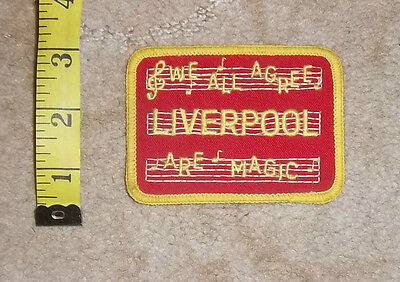 1970s Liverpool FC  Sew On Cloth Badge/Patch Lot 4