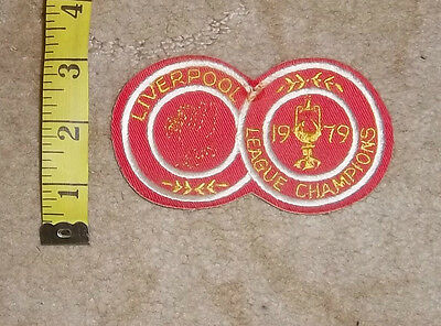 1970s Liverpool FC  Sew On Cloth Badge/Patch Lot 11