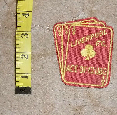 1970s Liverpool FC  Sew On Cloth Badge/Patch Lot 3