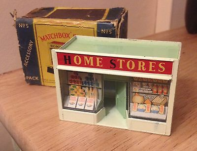 Matchbox Accessory Pack A5 No5 Home Stores 1960 Lesney