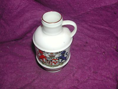 Goss Crested China Kendal Jug. Chester Le Street.