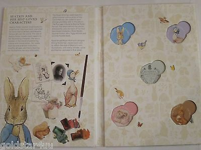 2016 BEATRIX POTTER 50p Fifty Pence COLLECTION FOLDER Holds all Five Coins