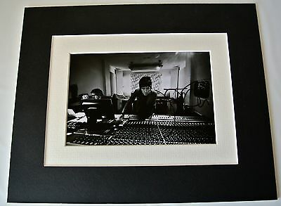 Johnny Marr Signed Autograph 10x8 photo mount display Smiths Music Guitar & COA