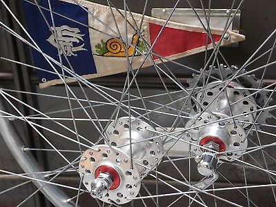 650 b wheel set Maxi-car hubs Mavic rims , Robergel , Herse Singer randonneuse
