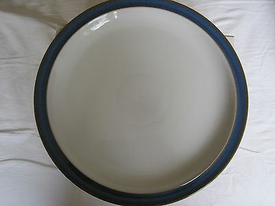 """1x Denby Imperial Blue dinner plate 10.25"""" diameter -Used Excellent Condition"""