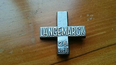 WW1 German Langemarck Cross, for Veterans of the 26th Reserve Corps, kindermord