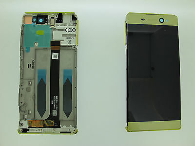 Sony Xperia XA Ultra Lcd Screen Display Digitizer Original Genuine Lime Gold UK