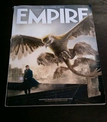 EMPIRE uk mag  DEC 2016 - FANTASTIC BEASTS & WHERE TO FIND THEM  HARRY POTTER
