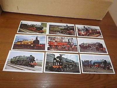 John Player Doncella GOLDEN AGE OF STEAM (1976) Complete Set OF 24