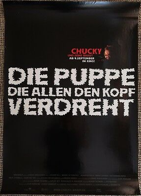 Bride Of Chucky Original Teaser Poster Childs Play