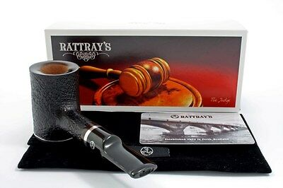 Rattray's Pfeife The Judge Stand up Poker sandgestrahlt pipe pipa