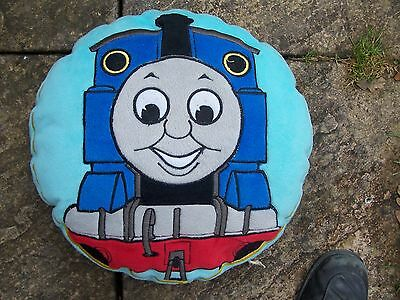 Used Round Blue Thomas The Tank Engine Cushion