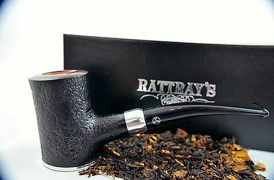 Rattray's Glory Day Stand up Poker Pfeife pipe pipa - sandgestrahlt 9mm Filter