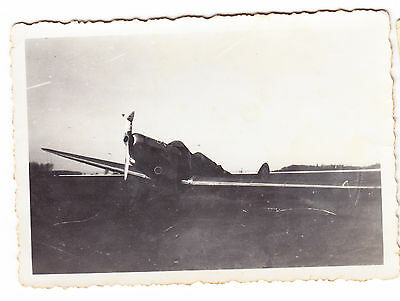 *******  Superbe Photo Avion Chasseur Allemand Wwii *** 1939-1945  ****