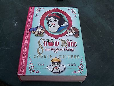 From Disney Snow White Set Of Four Cookie Cutters