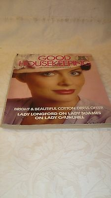 Vintage issue of womens Good Housekeeping monthly magazine  - June 1979