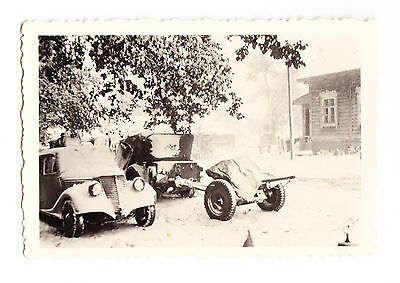 *****  Superbe Photo Vehicules Allemands Front Russe Wwii *** 1939-1945  *****