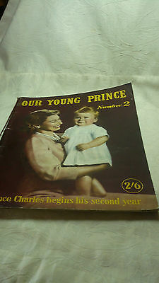 Vintage Royal Family Album Our Young Prince Number 2 by Beverley Baxter MP
