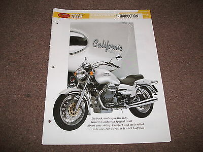 MOTO GUZZI CALIFORNIA SPECIAL the complete fact file from essential superbikes