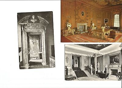 3  Postcards of Chatsworth House