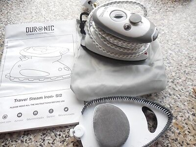 Duronics Small Craft/travel Iron - Accesory And Instructions