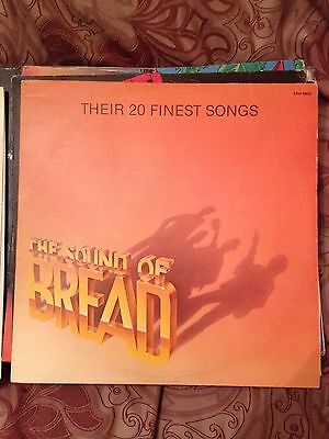 "Bread - The Sound Of Bread  Lp Vinyl ""rare"" Classic"