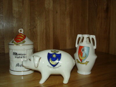 Job Lot - Crested China Southsea / Portsmouth / Chiswick (6)