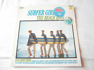 "The Beach Boys "" Surfer Girl  "" Capitol Records Label Re-Issue 25th Anniversary"