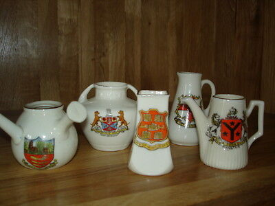 Job Lot - Crested China Walthamstow/City of Winchester & Lincoln/Marlborough(7)