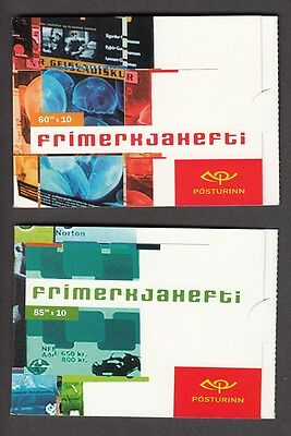 EUROPA CEPT Island 2003 MH booklets postfr./** (MNH)