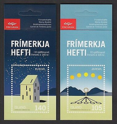 EUROPA CEPT Island 2009 MH booklets postfr./** (MNH)