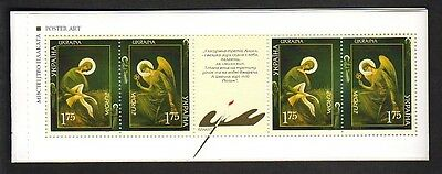 EUROPA CEPT Ukraine 2003 MH booklet postfr./** (MNH)