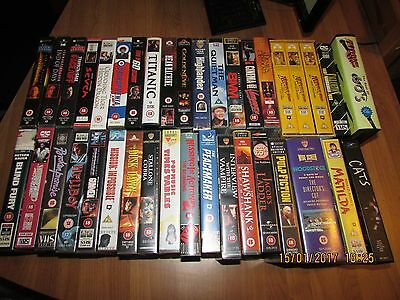 LARGE COLLECTION OF VHS Video Tape - Region Pal UK