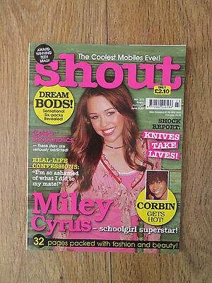 Shout Magazine - June 7 2007 - Miley Cyrus - No 373