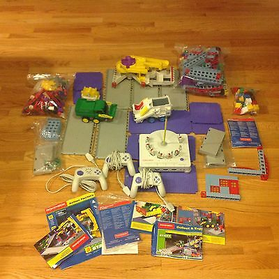 HUGE Rokenbok Lot 3 Controllers 7 Chips Construction Vehicles Action Factory EXC