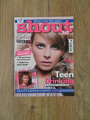 Shout Magazine - March 13 2008 - Coleen Rooney - No 393