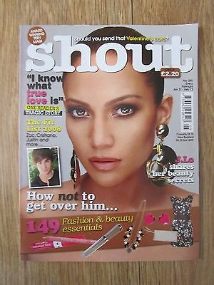 Shout Magazine - January 31 2008 - Jennifer Lopez - No 390