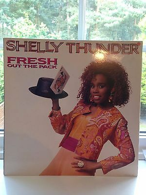 "Shelly Thunder - Fresh Out The Pack Lp Vinyl ""rare""classic Us Hip Hop"