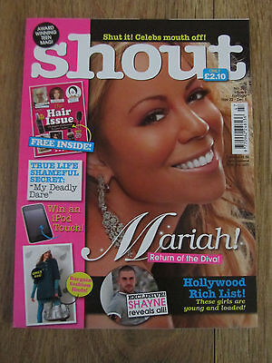 Shout Magazine - November 22 2007 - Mariah Carey / Shayne Ward - No 385