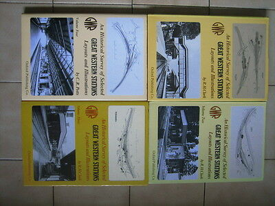 """"""" An Historical Survey of selected Great Western Stations vols 1 to 4 """""""