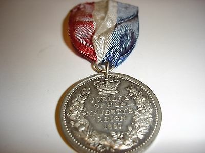 Jubilee 1887 Queen Victoria Medal by Pinches
