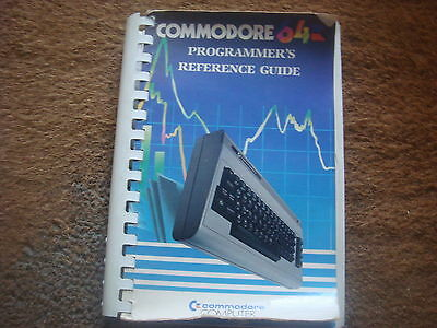 Commodore 64 Programmer's Reference Guide Book