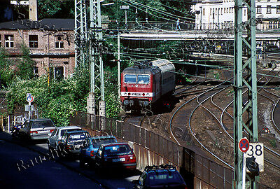 DR 143 106-3  Wuppertal Hbf 1999 / org. Dia + Datei!  407#19