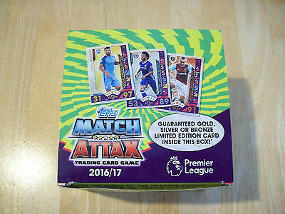 Topps Match Attax 2016/2017 Trading Cards Brand New and Sealed 10, 25 or 50 Pack
