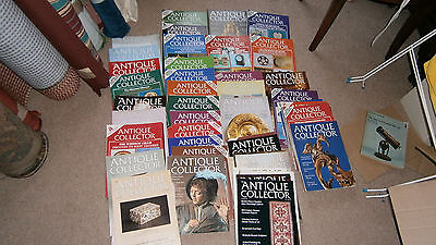 100 ANTIQUE  COLLECTORS GUIDE MAGAZINES -FROM THE  80s