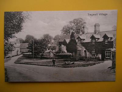 Houses TWYWELL VILLAGE Nr Thrapston & Ketttering Northamptonshire c1920s