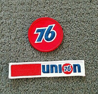 Union 76 Oil Gas 2 Patches Lot of 2 Union 76 Cloth Patches