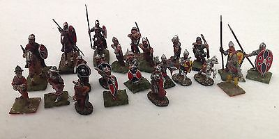 25mm Medieval Wargames Cavalry Foot Soldiers Archers Men at Arms x 22